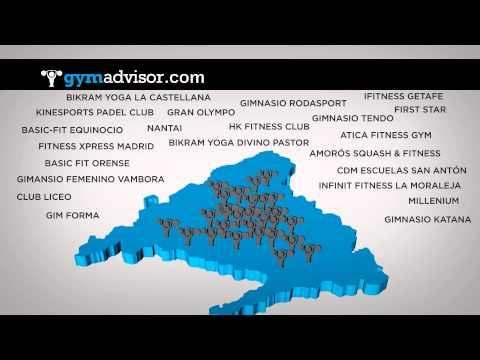 El buscador de gimnasios más fuerte de Madrid