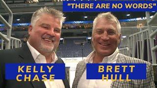 Brett Hull and Kelly Chase on the Blues run