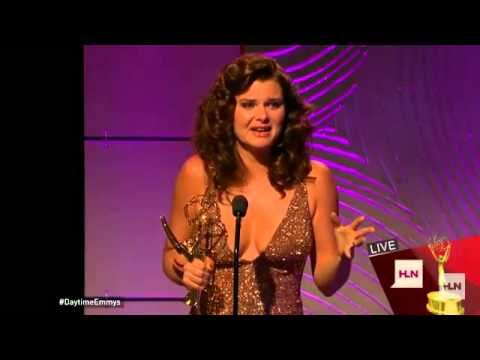 Emmy Gold! Heather Tom does it again! - YouTube