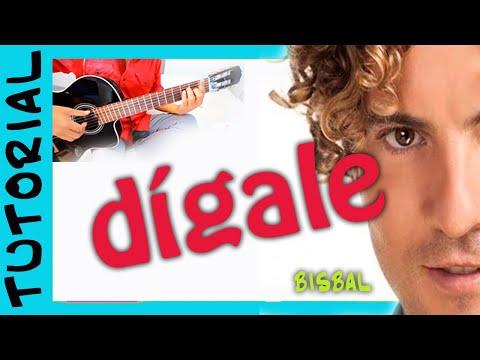 Baixar Como tocar Digale de David Bisbal en Guitarra Acustica Acordes Cover