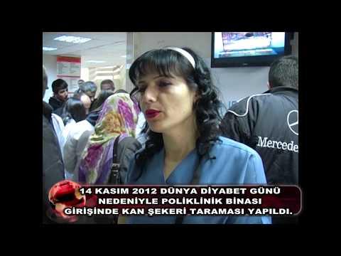 Gaziosmanpaşa Üniversitesi 14 Kasım Dünya Diyabet Günü Şeker Ölçümü