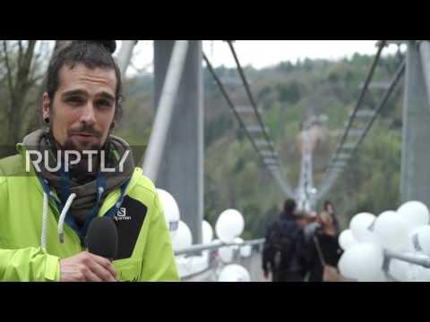 Najveći pešački viseći most na svetu