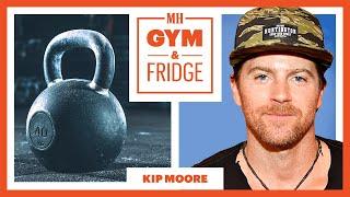 Kip Moore Shows His Nashville Gym & Fridge | Gym & Fridge | Men's Health