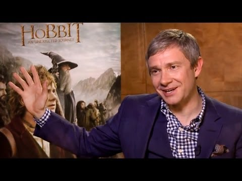 Martin Freeman Interview (The Hobbit: