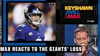 Max Kellerman reacts to the Giants' heartbreaking loss to Washington | Keyshawn, JWill & Max