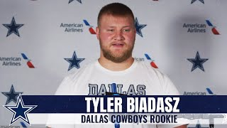Tyler Biadasz: It's Been A Concrete Message | Dallas Cowboys 2020