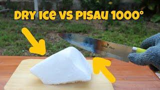 Dry Ice vs Pisau 1000° | Eksperimen dengan Dry Ice part 2