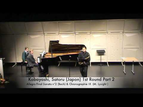 Kobayashi, Satoru (Japon) 1st Round Part 2