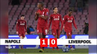 Diễn biến trận đấu   Napoli - Liverpool bảng C Champions League 2018/19