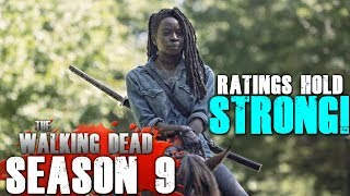 The Walking Dead Season 9's Ratings Hold Strong Even Without Rick!