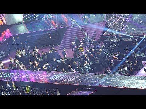 [Reaction to 방탄소년단(BTS) 대상 소감] 트와이스(TWICE),아이즈원,워너원,레드벨벳,여자친구,세븐틴@190115 서울 가요대상 [ 4k Fancam/직캠