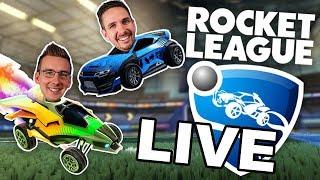 LIVE: Q&A w/ Ben, J and DK - Rocket League!