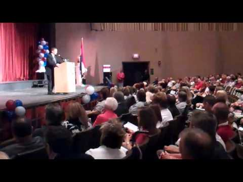 Joplin Superintendent Dr. CJ Huff Speaks to Teachers - YouTube