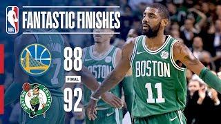Warriors vs Celtics - Best Plays From The Thrilling 4th Quarter in Boston   November 16, 2017