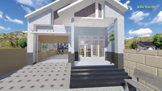 Nhà Cấp 4 Trệt Mái Thái 3 Phòng Ngủ A Nguyễn Thái Hùng (H Dương Minh Châu) PA1 3D