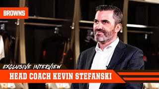 Exclusive Interview w/ New HC Kevin Stefanski | Cleveland Browns