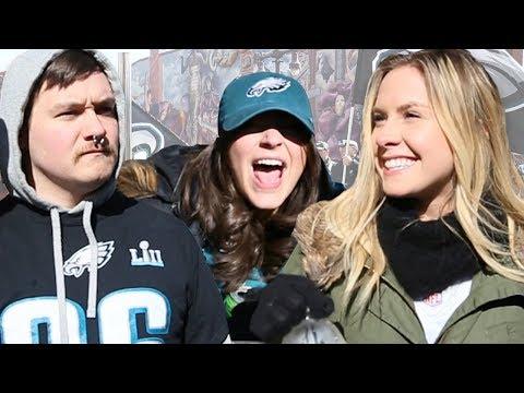 We EXPOSED Bandwagon Philadelphia Eagles Fans At Their Super Bowl Parade