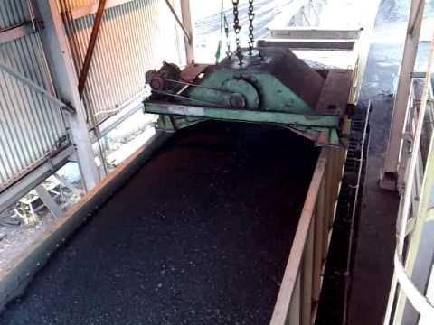 Ako sa vykladá uhlie z vagóna