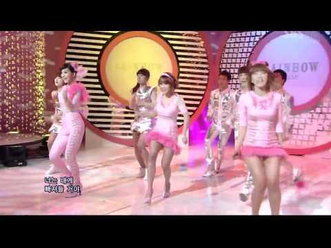 [1080p HD]120115 Rainbow Pixie - Hoi Hoi @ Inkigayo (Debut Stage)