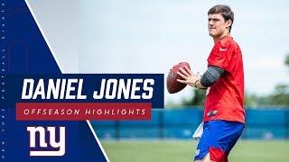 Giants QB Daniel Jones offseason highlight reel