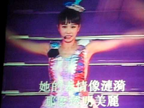 Jolin Tsai 蔡依林- 許願池的希臘少女 (Live in San Jose 11/30/08)