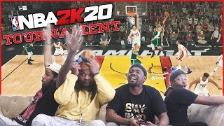 BIG PLAY After BIG PLAY! The High Octane NBA 2K20 Tournament!