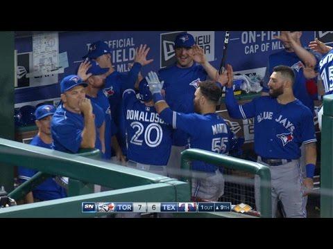 Texas Rangers vs Toronto Blue Jays