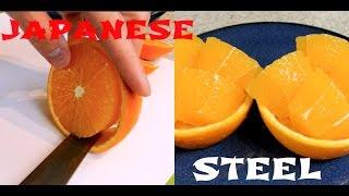 Japanese cutting skills - Super sharp Japanese utility knife 2
