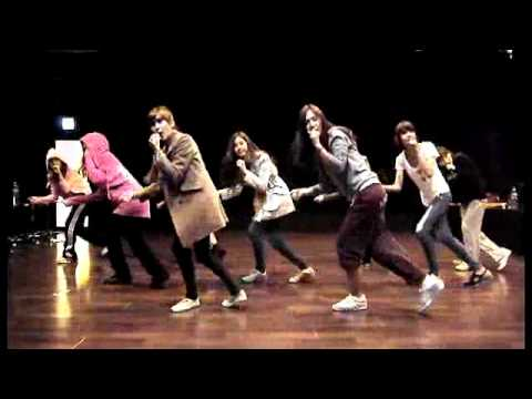 SNSD 소녀시대 - My Best Friend(단짝) , Studio dance practice(연습실 안무)