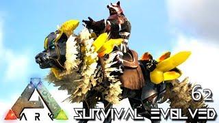 ARK: SURVIVAL EVOLVED - ALIEN TEK DIREWOLF & HULK FOREWORLD MYTH !!! E62 (MOD ARK EXTINCTION CORE)