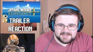 Star Wars Resistance First Trailer Reaction