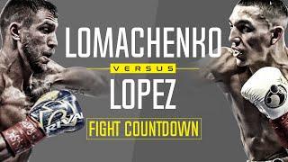 Fight Story: Vasiliy Lomachenko vs Teofimo Lopez