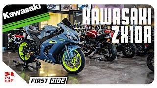 2017 Kawasaki ZX10r | First Ride | Wrecked Bike Rebuild Season 2