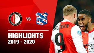 Supergoal Sinisterra bij eerste zege in 2020! | Feyenoord - sc Heerenveen