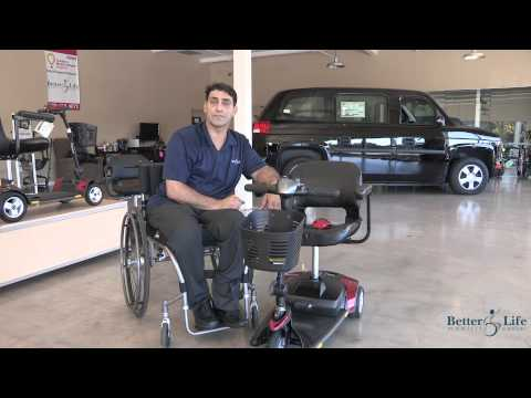 Mobility Scooters: How to Choose a Lightweight Travel Mobility Scooter Video