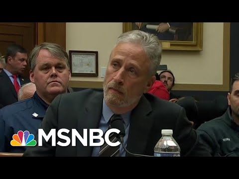 """Jon Stewart To Congress: """"After 18 Years, Do Your Job"""" 