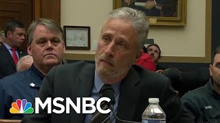 "Jon Stewart To Congress: ""After 18 Years, Do Your Job"" 