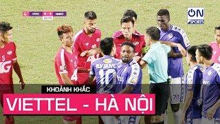 Viettel vs Hà Nội va chạm nảy lửa trận Derby Thủ đô | On Sports