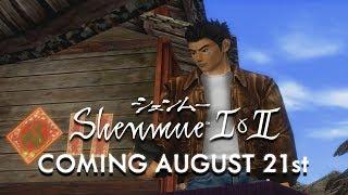 Shenmue I & II - Sarà disponibile dal 21 agosto