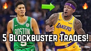 5 Blockbuster Trades That Would SHOCK the NBA!   Bradley Beal to Los Angeles Lakers in Midseason!