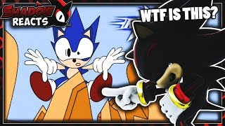 Shadow Reacts To Sonic Shorts: Volume 1