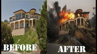 Ventura Country Thomas Fire Burns Thousands of acres-Southern California fires|| 5 Dec 2017