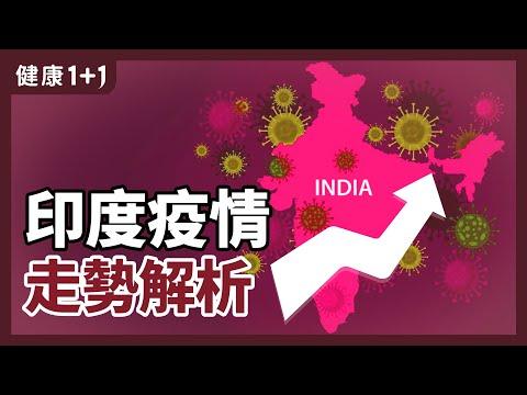 印度疫情 走勢解析 | 印度變種 比 英國變種 威力更強? | 印度 會引發 全球大流行 嗎?| 健康1+1