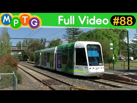 Yarra Trams on Route 109 Port Melbourne Light Rail (Full Video #88)