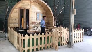 Nhà gỗ di động thông minh 24m2- một thiết kế của Zentado