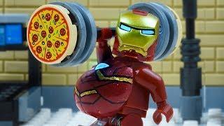 LEGO Iron Man Biggest Man in Marvel - Superhero Iron Man New Suit