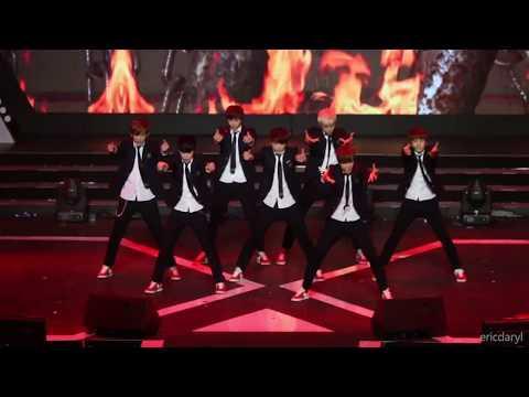 2014.4.15 防弹少年团 男子汉 BTS Boy In Luv 音悦V榜 年度盛典 Remake