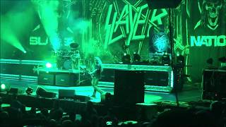 Slayer War Ensemble 2018 Mohegan Sun Casino, CT