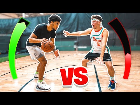 1V1 Basketball vs Kenyon Martin Jr.