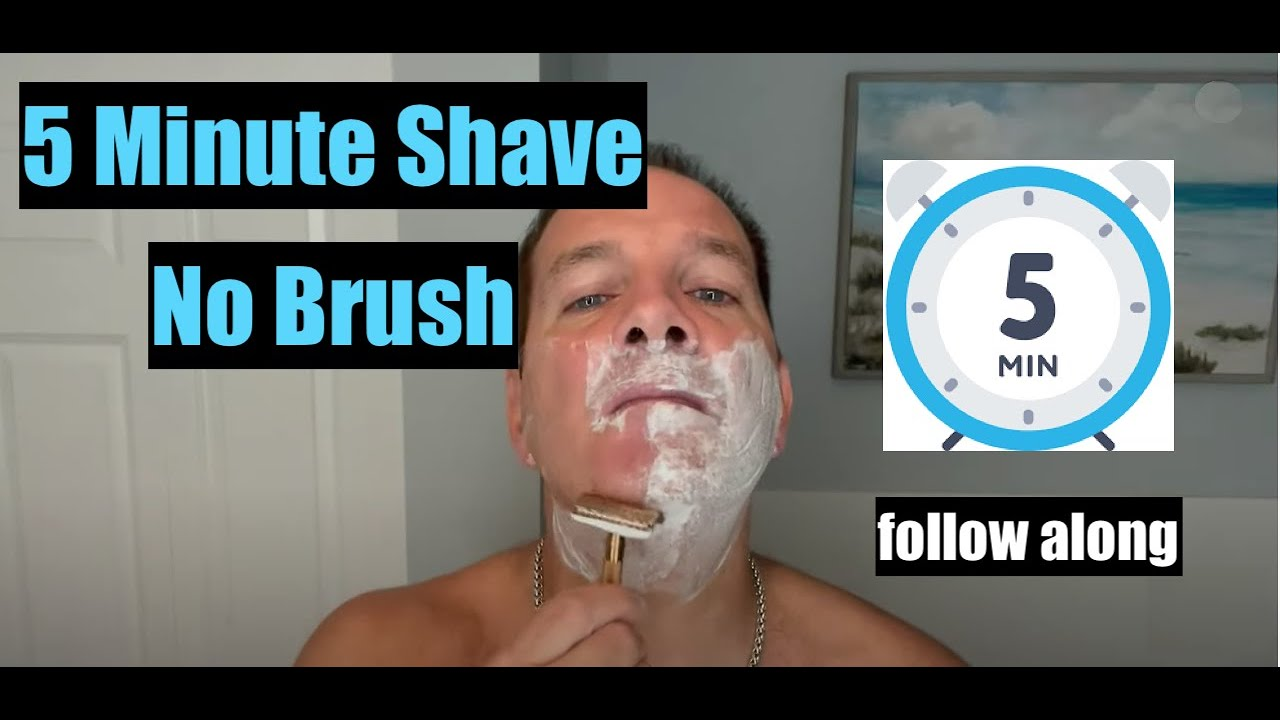 5 Minute Safety Razor Shave No Brush 4K